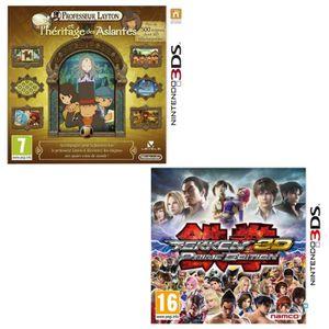 JEU 3DS Professeur Layton +Tekken 3D Prime Edition Jeu 3DS