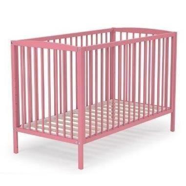 Destockage at4 lit barreaux b b rose 60x120 cm lit b b au meilleur prix - Destockage lit enfant ...