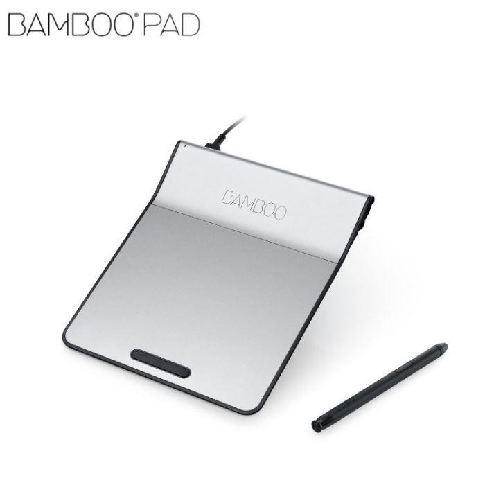 informatique clavier souris webcam wacom bamboo pad filaire track f  waccthkfr