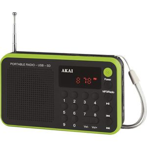 Récepteur audio AKAI AR-68KGN - Transistor, Tuner digital, USB, Ba