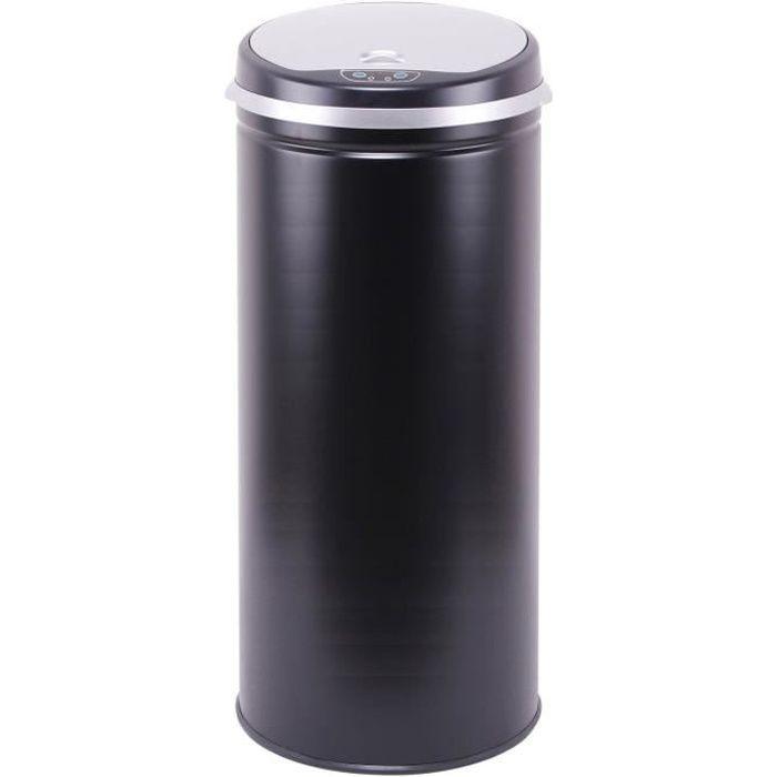 kitchen move poubelle automatique 42l black achat vente poubelle corbeille poubelle sensor. Black Bedroom Furniture Sets. Home Design Ideas