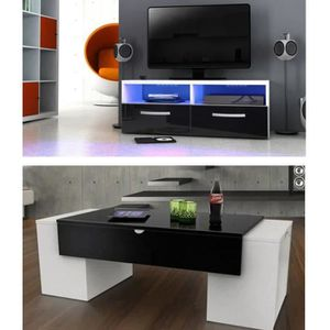 meuble tv achat vente meuble tv pas cher soldes. Black Bedroom Furniture Sets. Home Design Ideas