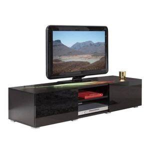 MEUBLE TV LIME Meuble TV 140 cm noir