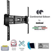 FIXATION - SUPPORT TV CONTINENTAL EDISON 400NCL12 Support TV mural incli