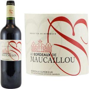 VIN ROUGE Bordeaux de Maucaillou 2013 Bordeaux Supérieur ...