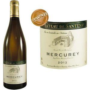 VIN BLANC Château de Santenay Mercurey 2013 - Vin blanc