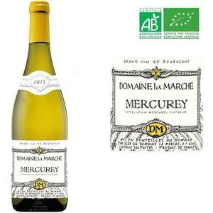 VIN BLANC Louis Max Domaine La Marche Mercurey Bio 2015 - Vi