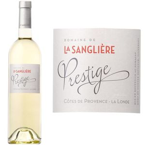 VIN BLANC Domaine de la Sanglière Cuvée Prestige Côtes de Pr