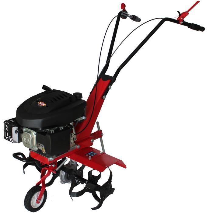 MOTOBINEUSE RACING Motobineuse thermique 6 fraises 139cm3
