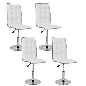 Chaise rotative pas cher table de lit a roulettes for Chaise transparente solde