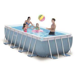 piscine rectangulaire intex achat vente piscine. Black Bedroom Furniture Sets. Home Design Ideas