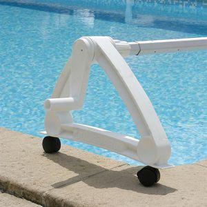 Enrouleur de b che r sine pour piscines enterr es achat for Enrouleur de bache piscine electrique