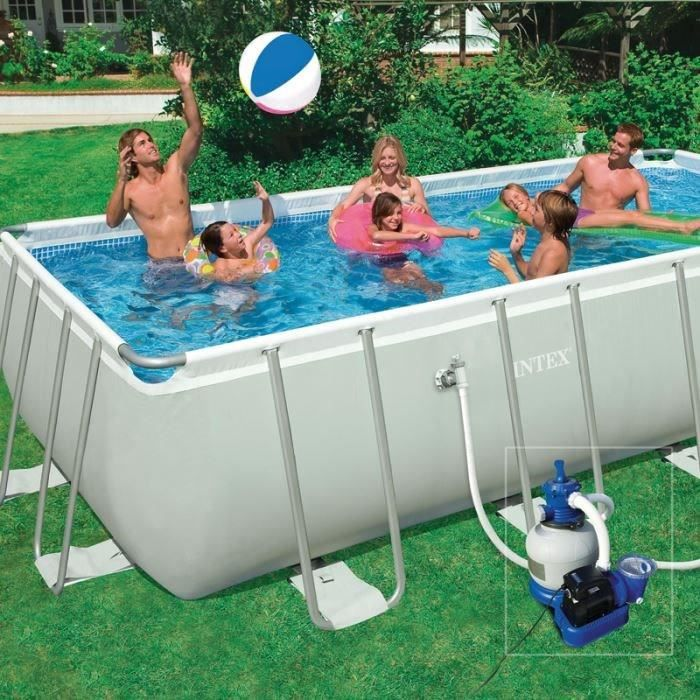Kit piscine tubulaire 5 49 x 2 74 x 1 32 m achat vente for Kit piscine tubulaire
