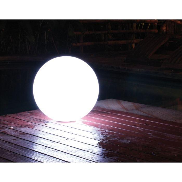 lampe flottante ronde d35cm avec t l commande achat vente d coration lumineuse lampe. Black Bedroom Furniture Sets. Home Design Ideas