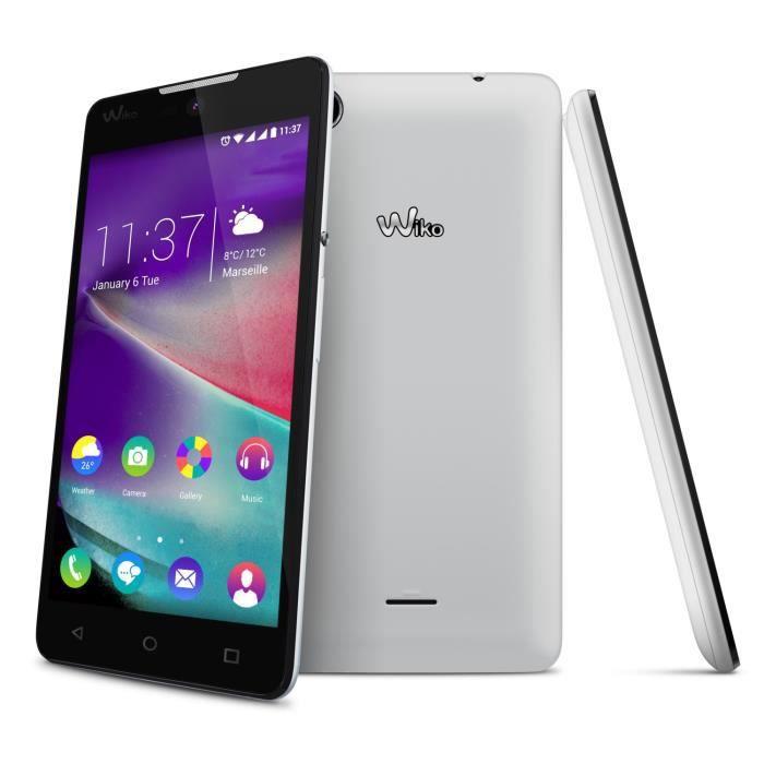 telephonie telephone mobile smartphones lf  wiko