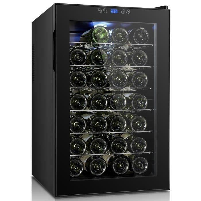 continental edison cecwc28lcd cave vin de service 28 bouteilles pose libre classe b. Black Bedroom Furniture Sets. Home Design Ideas