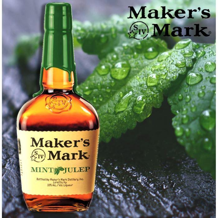 WHISKY BOURBON SCOTCH Maker's Mark Mint Julep 33° 1L