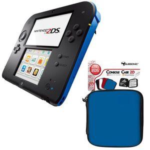 CONSOLE 2DS Pack Console 2DS Bleue + Housse Bleue