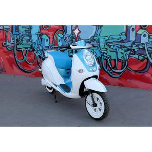 SCOOTER Scooter Electrique CKA Green Bleu