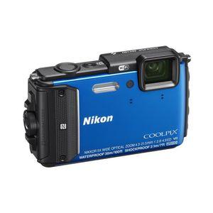 APPAREIL PHOTO COMPACT NIKON COOLPIX AW130 Bleu Appareil photo numérique