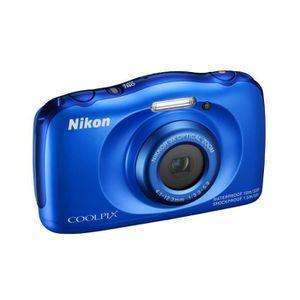 APPAREIL PHOTO COMPACT NIKON COOLPIX S33 Bleu Appareil photo numérique Co