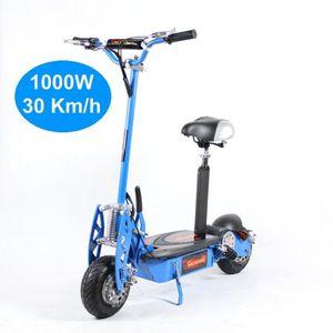 TROTTINETTE ELECTRIQUE Trottinette Electrique Adulte 1000W Bleu