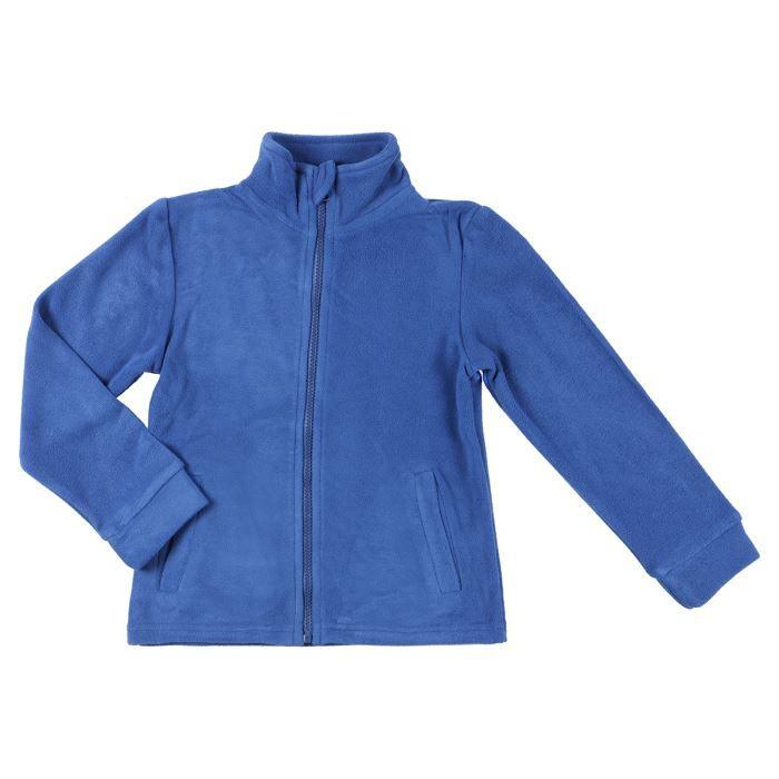 epop veste polaire enfant gar on bleu achat vente. Black Bedroom Furniture Sets. Home Design Ideas
