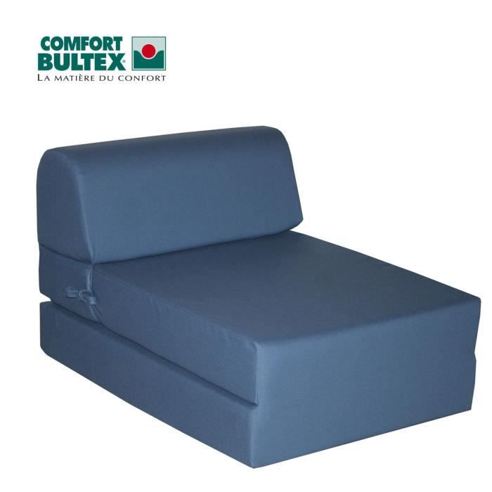 bultex chauffeuse couchage d appoint achat vente chauffeuse tissu 50 coton 50 polyester