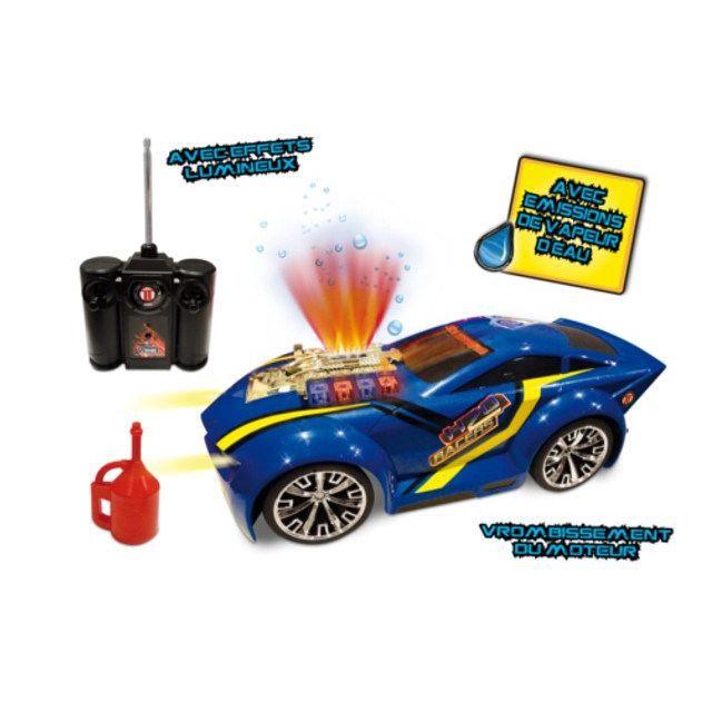 voiture radicommand e jet d 39 eau h20 r c racer bleu achat vente voiture camion voiture. Black Bedroom Furniture Sets. Home Design Ideas