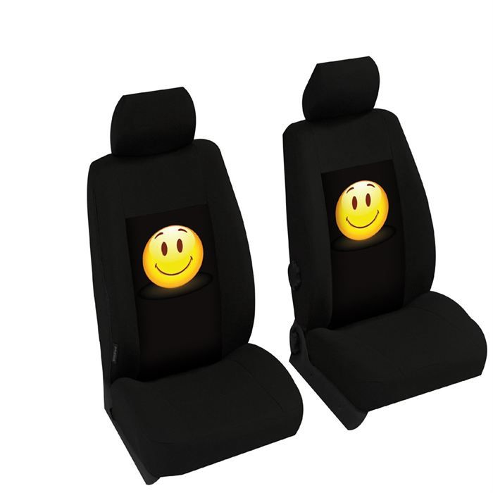 Housse standard n0a smiley achat vente housse de si ge for Housse standard