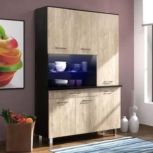 buffet de cuisine achat vente buffet de cuisine pas cher soldes cdiscount. Black Bedroom Furniture Sets. Home Design Ideas