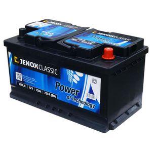 batterie jenox auto achat vente batterie jenox voiture pas cher soldes d hiver d s le 11. Black Bedroom Furniture Sets. Home Design Ideas