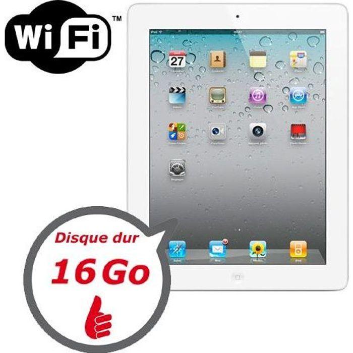apple ipad 2 16 go achat vente tablette tactile apple. Black Bedroom Furniture Sets. Home Design Ideas