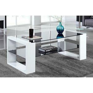 Table basse achat vente table basse pas cher cdiscount - Table basse en verre pas cher ...