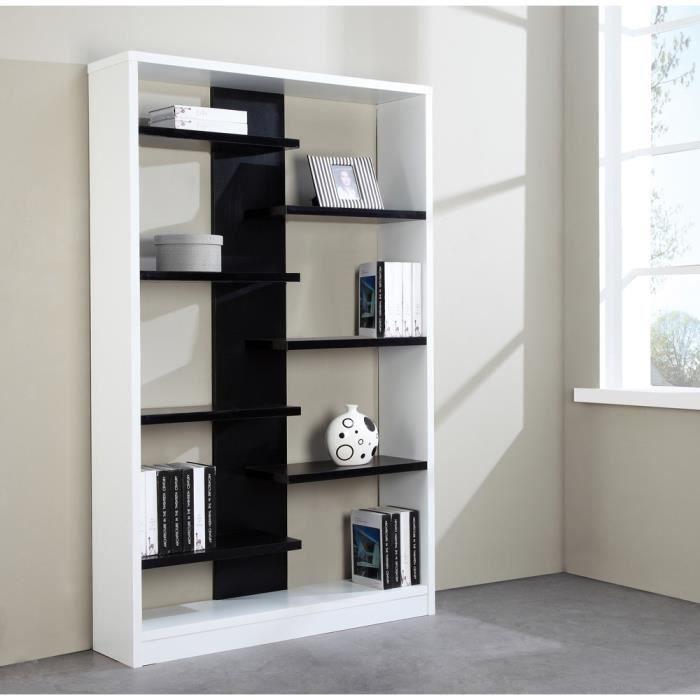 etagere noire et blanche table de lit. Black Bedroom Furniture Sets. Home Design Ideas