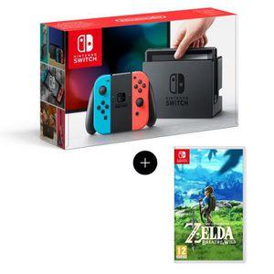 SORTIE CONSOLE NINTENDO SWITCH Console Nintendo Switch + Paire de Joy-Con rouge e