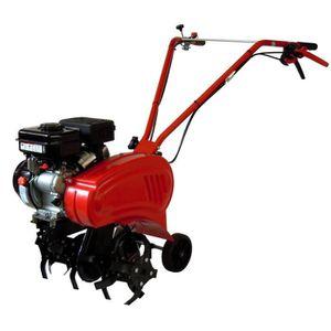 MOTOBINEUSE Motobineuse thermique 136cc 6 fraises 45 cm 2 vite