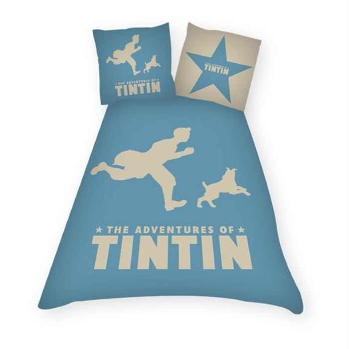 linge de lit enfant tintin Housse de couette enfant   les bons plans de Micromonde linge de lit enfant tintin