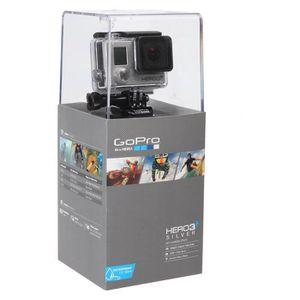 CAMÉRA SPORT GoPro HERO 3+ Silver Edition Caméra sport Full HD