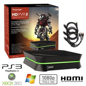 ADAPTATEUR ACQUISITION Hauppauge HD PVR2 Gaming Edition Plus