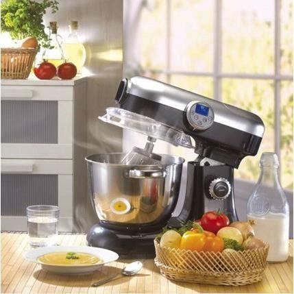 kitchencook robot cuiseur v2 noir revolutionv2 achat vente robot multifonctions cdiscount. Black Bedroom Furniture Sets. Home Design Ideas