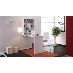 BUREAU  SMALL Bureau rabattable 79 cm - Blanc