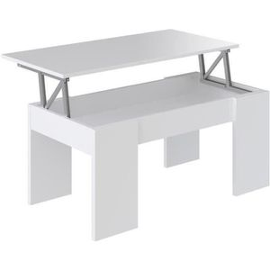 TABLE BASSE SWING Table basse transformable style contemporain