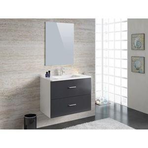 Salle de bain compl te achat vente salle de bain - Meubles salle de bain cdiscount ...