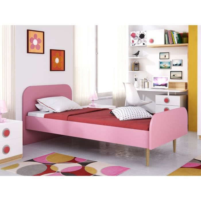 lit enfant achat vente lit enfant pas cher les soldes sur cdiscount cdiscount. Black Bedroom Furniture Sets. Home Design Ideas