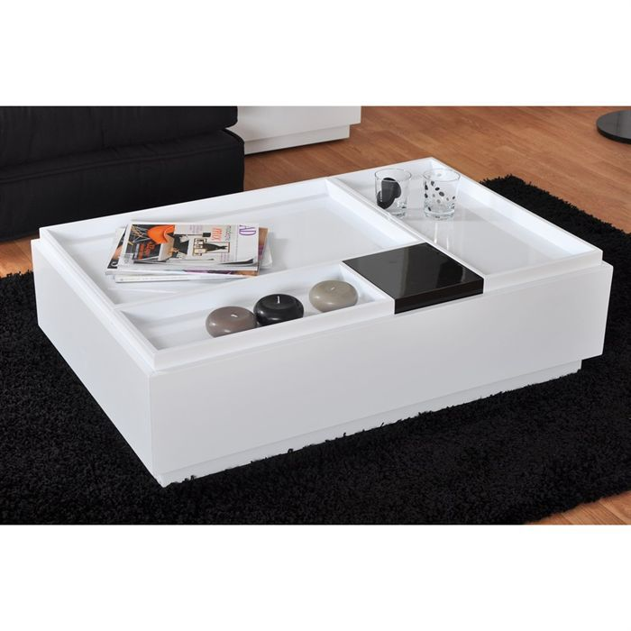 table basse brooklyn achat vente table basse table basse brooklyn cdiscount. Black Bedroom Furniture Sets. Home Design Ideas