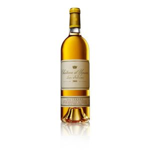 VIN BLANC Château d'Yquem Sauternes 1er Cru Classé 2000 - Vi