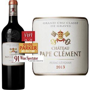 VIN ROUGE Château Pape Clément Pessac Léognan 2013 - Vin rou
