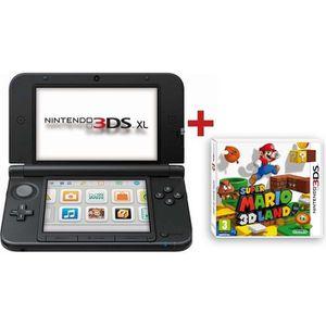 CONSOLE 3DS CONSOLE 3DS XL BLEU NOIR + SUPER MARIO 3D LAND