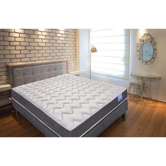 matelas belle literie 90x190 anti punaises de lit achat vente matelas cdiscount. Black Bedroom Furniture Sets. Home Design Ideas